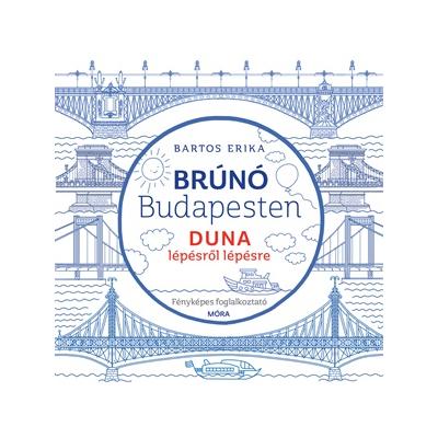 Brúnó Budapesten 5. - Duna lépésről lépésre - fényképes foglalkoztató