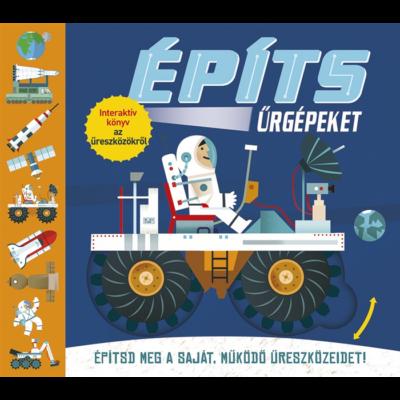 Építs űrgépeket! interaktív könyv