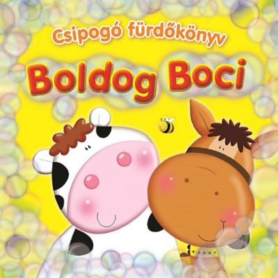 Csipogó fürdőskönyv - Boldog Boci
