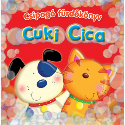 Csipogó fürdőskönyv - Cuki Cica