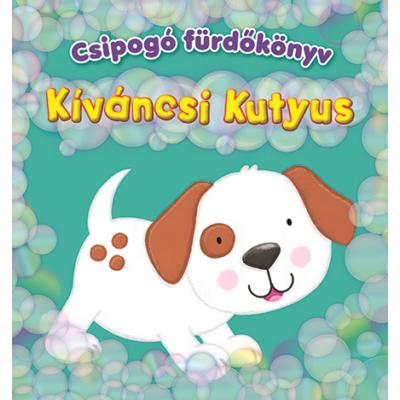 Csipogó fürdőskönyv - Kíváncsi Kutyus
