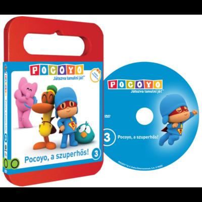 POCOYO DVD 3. - Pocoyo, a szuperhős!
