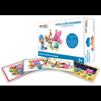 Pocoyo puzzle játék kicsiknek - 4 különböző képpel