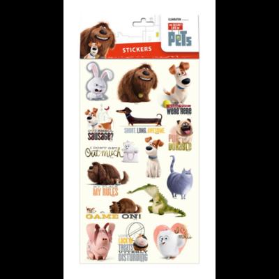 The Secret Life of Pets - Matrica - 23x13cm