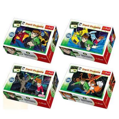Trefl - Ben 10 mini puzzle - 54 db-os