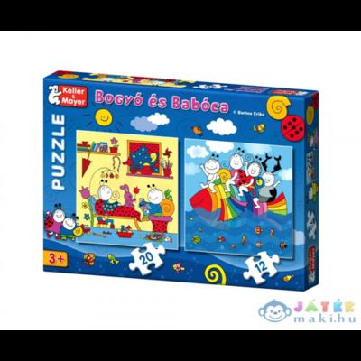 Bogyó és Babóca puzzle - A Szivárványhal - 12 -és 20 db-os