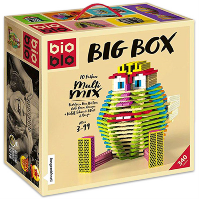 "Bioblo Big Box ""Multi Mix"" 340 db-os építőjáték"