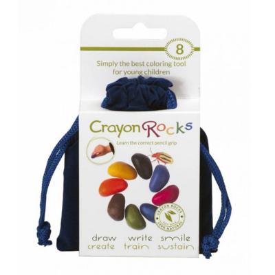 Crayon Rocks - Kavicskréta - 8 db