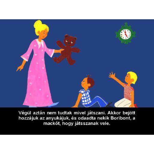 Diafilm - Boribon, a játékmackó