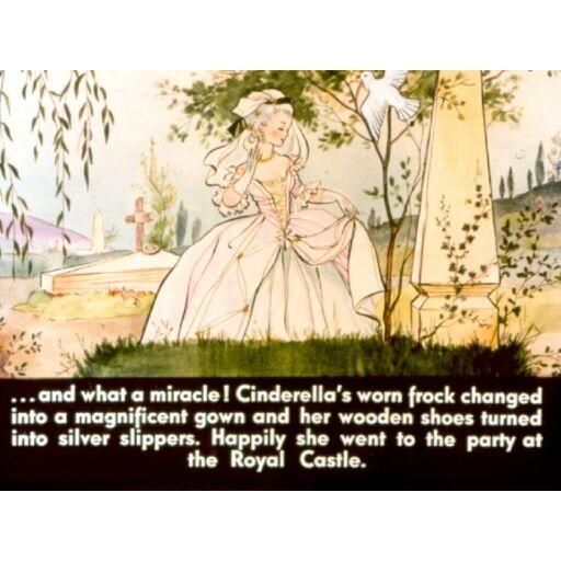 Diafilm-Hamupipőke Cinderella