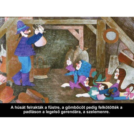 Diafilm - A kis Gömböc