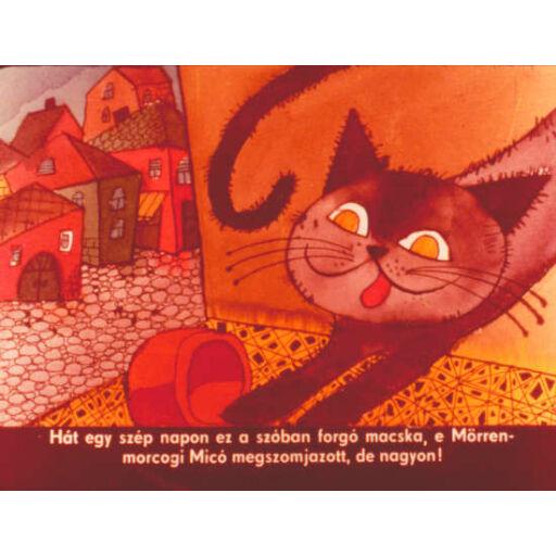 Diafilm - Pincérfrakk utcai cicák - Mörrenmorcogi Micó