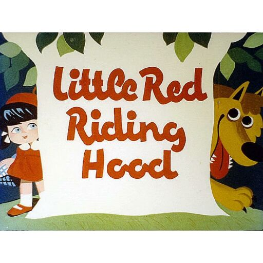 Diafilm-Piroska és a Farkas - Little Red Riding Hood