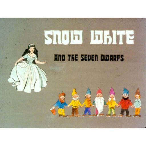 Diafilm-Hófehérke és a hét törpe - Snow White and the Seven Dwarfs