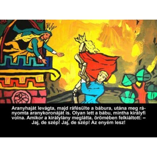 Diafilm-A válogatós királykisasszony