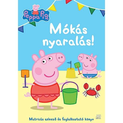 Peppa malac-Mókás nyaralás! foglalkoztató