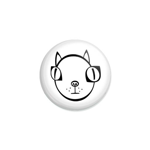 Kedd kitűző - Macska - Minta 2