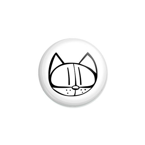 Kedd kitűző - Macska - Minta 3