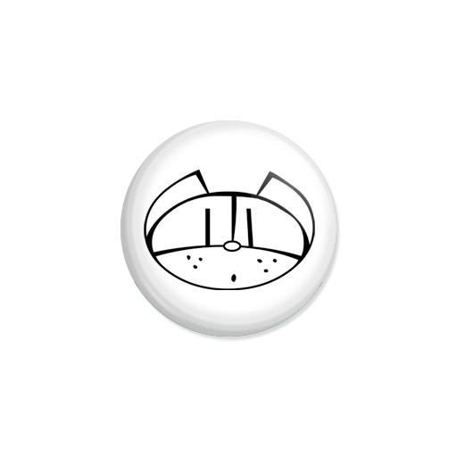 Kedd kitűző - Macska - Minta 4