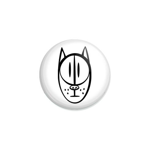 Kedd kitűző - Macska - Minta 5