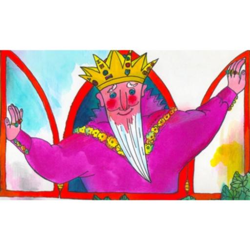 Diafilm - A didergő király