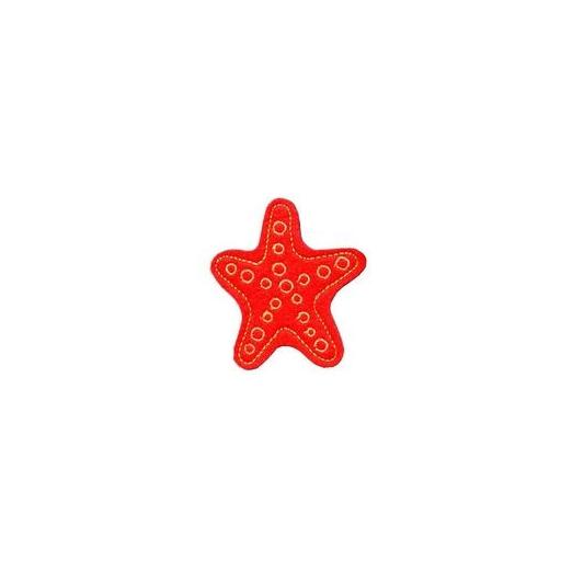 Hűtőmágnes - Tengeri csillag (piros)