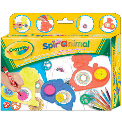 Crayola - Spirálállatok készlet
