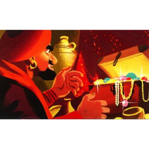 Diafilm - Ali Baba és a negyven rabló