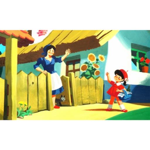 Diafilm - Piroska és a Farkas / Little Red Riding Hood