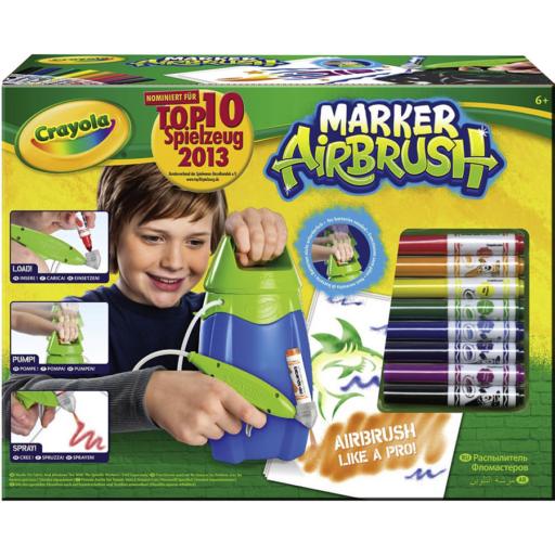 Crayola - Kis Művész Festékszóró - kék