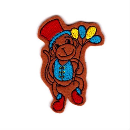 Hűtőmágnes - Cirkuszi majom (fiú)