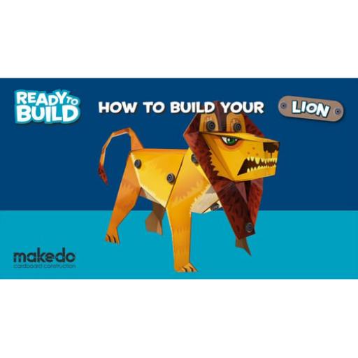"""Makedo - """"Ready to Build"""" - Oroszlán"""