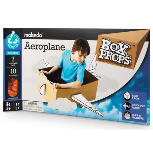 Makedo - BoxProps - Közlekedés - Repülőgép