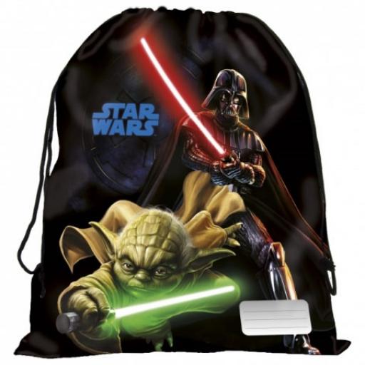 Star Wars - Tornazsák - Darth Wader és Yoda - 41x35cm