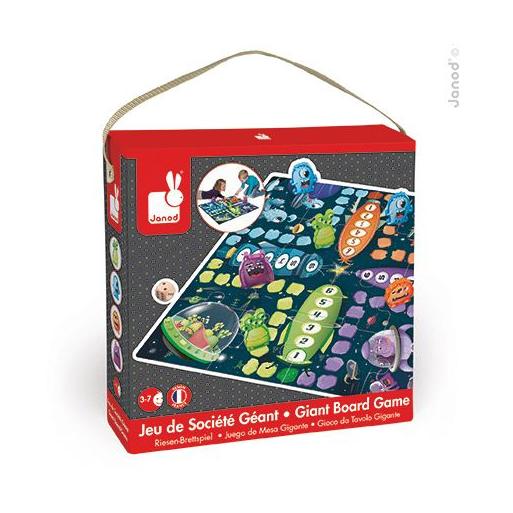 Janod - Ki nevet a végén puzzle és társasjáték