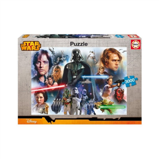 Star Wars puzzle - 3000 db-os