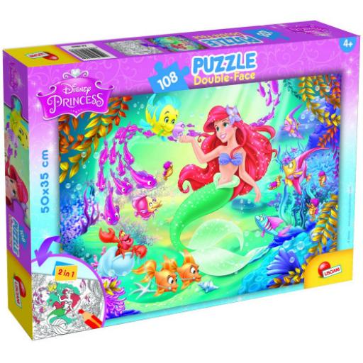 Disney - Ariel, a kis hableány - Puzzle - 108 db-os