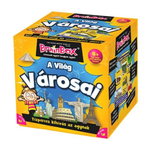 BrainBox - A világ városai társasjáték
