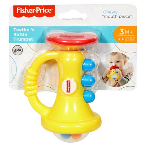 Fisher Price - Trombita Csörgő