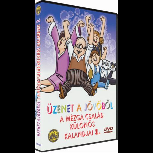 Üzenet a jövőből - A Mézga család különös kaladjai 1. - DVD