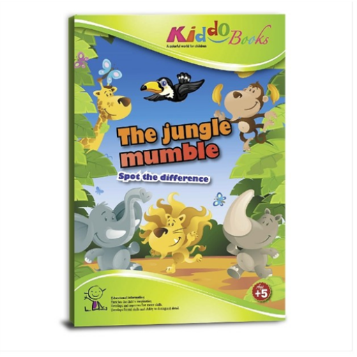 Kiddo Books - Keresd meg a különbségeket foglalkoztató füzet