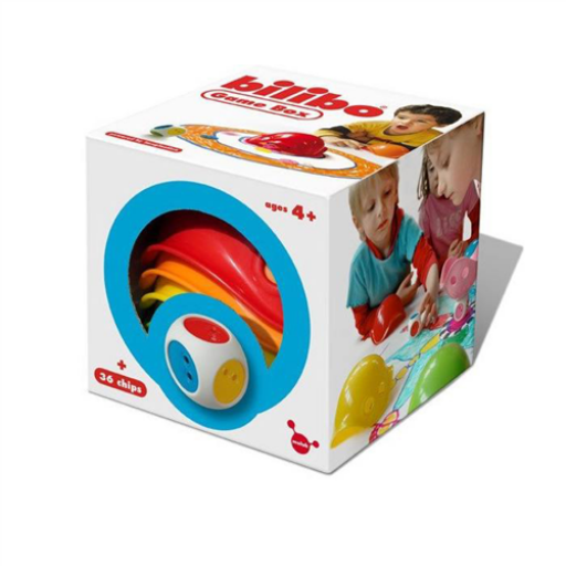 Bilibo - Game Box - készségfejlesztő játék - készlet