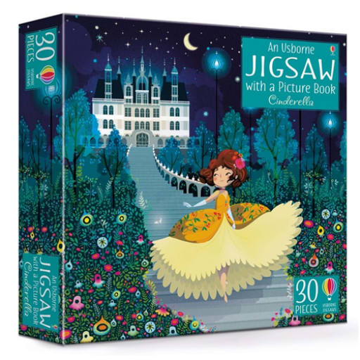 Book and Jigsaw Cinderella