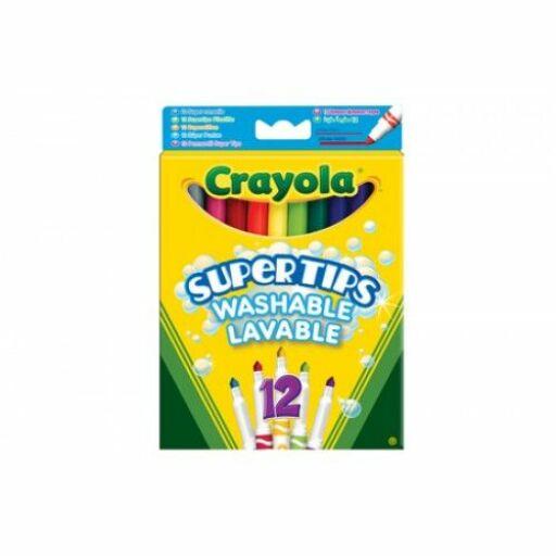 Crayola-Vékony filctoll 12 db-os