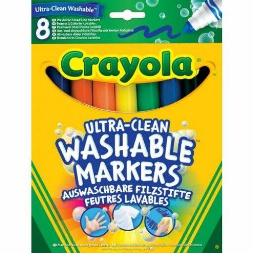 Crayola Extra-lemosható vastag filctoll