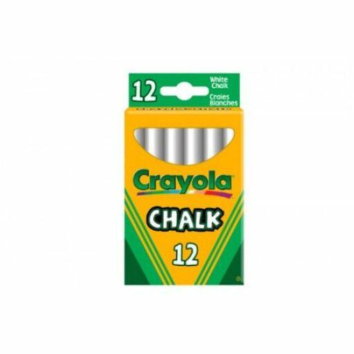 Crayola-Táblakréta fehér 12 db