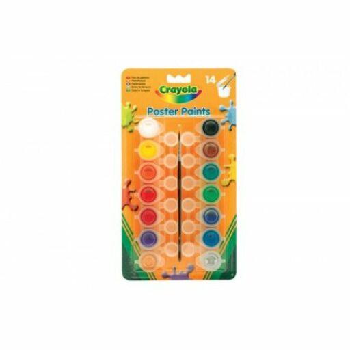 Crayola-Tempera, színes, lemosható, tégelyes