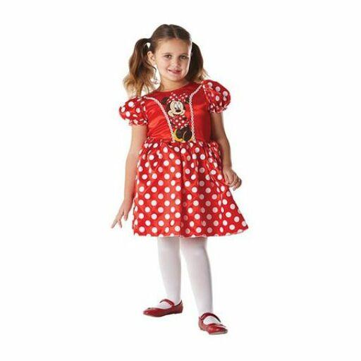 Minnie egér vörös gyerekjelmez