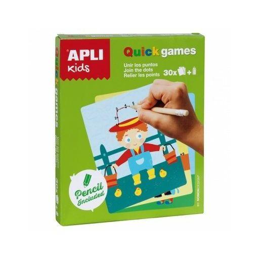 Apli Kids-Mini játékok-Pontról pontra színező