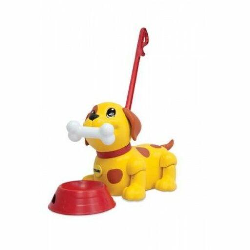 Tomy-Zenélő Kutyus tologató